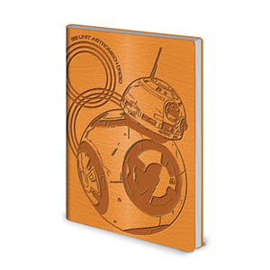Libreta Flexi Star Wars: BB8