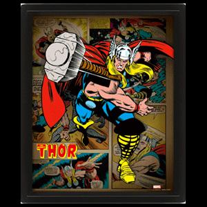 Cuadro 3D Marvel: Thor