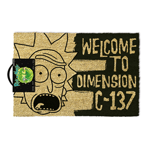 Felpudo Rick y Morty: Dimension C-137
