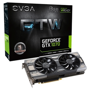 EVGA GeForce GTX 1070 FTW 8GB