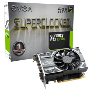 EVGA GeForce GTX 1050 FTW 2GB