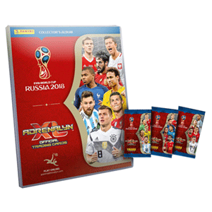 Mega Starter Pack Adrenalyn World Cup 2018