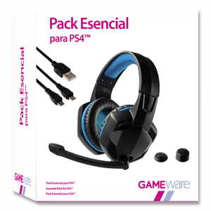 Pack Esencial para PS4 GAMEware