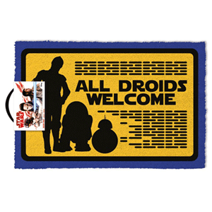 Felpudo Star Wars: All Droids