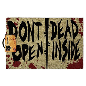 Felpudo The Walking Dead: Don´t Open