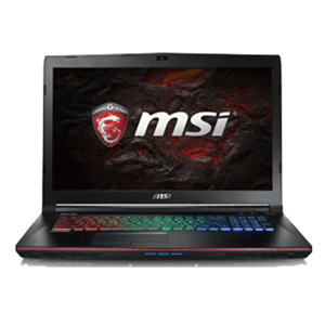 MSI GE72 7RE-084XES - i7-7700 - GTX 1050Ti - 16GB - 1TB HDD + 256GB SSD - 17.3'' - FreeDOS - Apache Pro