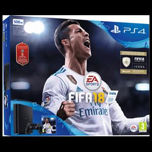 Playstation 4 Slim 500Gb + FIFA 18 World Cup