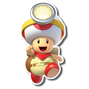 Captain Toad Treasure Tracker - Pin