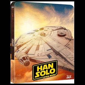 Han Solo Una Historia de Star Wars - Steelbook 3D + 2D