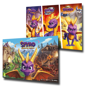 Spyro Reignited Trilogy - Póster doble cara