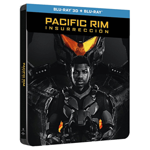 Pacific Rim Insurreccion - Steelbook 3D + 2D