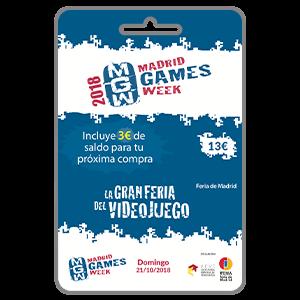 MGW 2018 Acceso Domingo