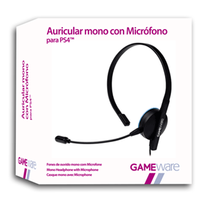 Auricular Mono con Micrófono GAMEware