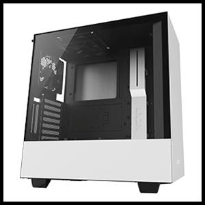 NZXT H500i Blanca/Negra - Cristal Templado