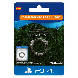 The Elder Scrolls Online: Summerset Actualización PS4