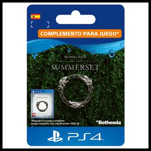 The Elder Scrolls Online: Summerset Actualización PS4