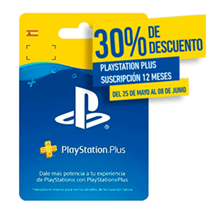Playstation Plus - Suscripción de 12 Meses - Days of Play