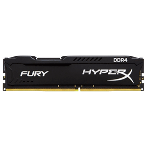 Kingston HyperXFury Negro DDR4 4GB 2400Mhz CL15