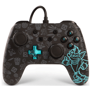 Controller con Cable PowerA Crash Bandicoot -Licencia oficial-