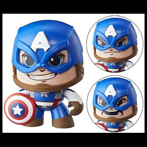 Figura Mighty Muggs Marvel: Capitán América Traje Azul