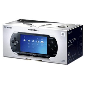 PSP 1000 Value Pack Negra