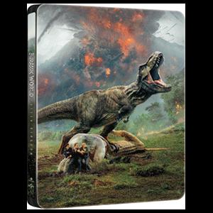 Jurassic World El Reino Caído - Steelbook 3D + 2D