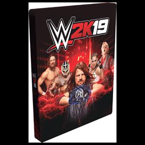 Caja metálica WWE 2K19