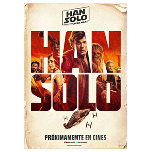 Póster Han Solo