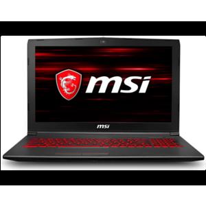 MSI GV62 8RD-011XES - i7-8750H - GTX 1050Ti 4GB - 8GB - 1TB HDD + 256GB SSD - 15,6'' FHD - FreeDOS