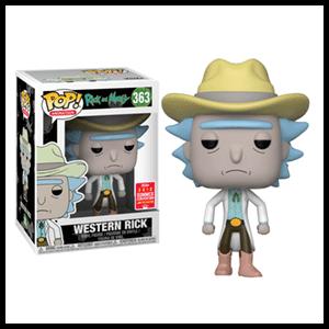 Figura Pop Rick y Morty: Western Rick
