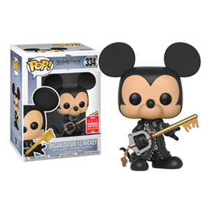 Figura Pop Kingdom Hearts: Organization 13 Mickey