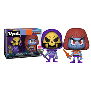 Figura VYNL Masters of the Universe: Skeletor + Faker
