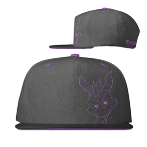 Gorra Gris Oscuro Spyro the Dragon