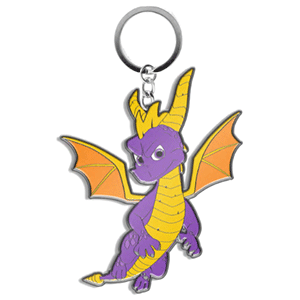 Llavero Metal Spyro the Dragon