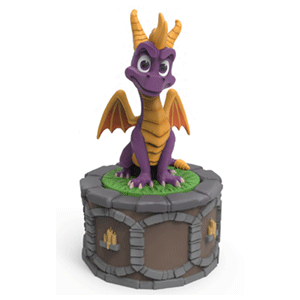 Figura Spyro the Dragon Quemador de Incienso