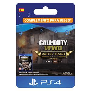 Call of Duty WWII - The United Front DLC Pack 3 PS4