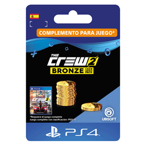 The Crew 2 Bronze Crew Credits Pack PS4