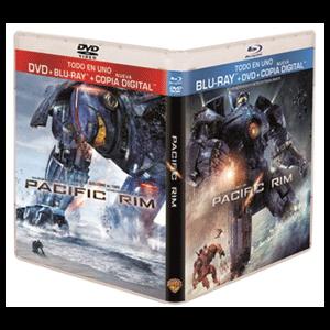 Pacific Rim Bluray + DVD + Copia Digital Codegame