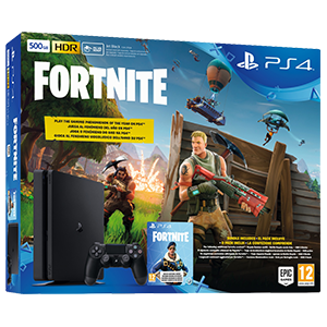 Playstation 4 Slim 500Gb + Voucher Fortnite