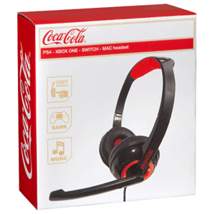 Auricular Mini Multiplataforma Coca-Cola PS4-XONE-NSW