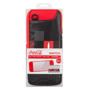 Kit 3 Accesorios Nintendo Switch Coca-Cola