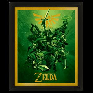 Poster 3D The Legend of Zelda: Link
