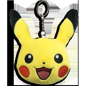 Pokémon Let's Go Pikachu - Llavero peluche Pikachu