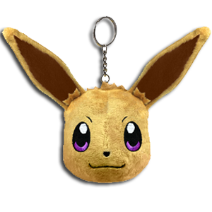 Pokémon Let's Go Eevee - Llavero peluche Eevee