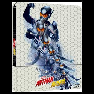 Ant-Man y la Avispa - 3D + 2D Steelbook