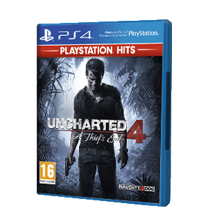 Uncharted 4: El Desenlace del Ladrón PS Hits