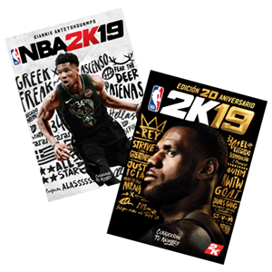 Póster doble cara NBA 2K19