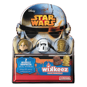 Blister Star Wars Wikkeez(REACONDICIONADO)