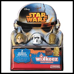 Blister Star Wars Wikkeez(REACONDICIONADO)