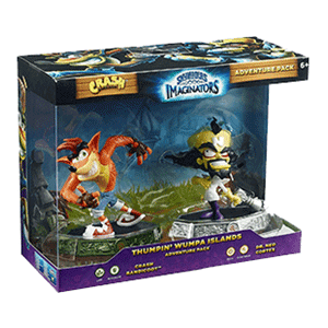 Skylanders Imaginators Crash Expansion Pack: Crash Bandicoot-Dr. Neo Cortex (EXPOSICIÓN)
